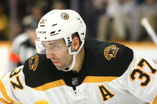 Boston Bruins Fans Should Not Vote Patrice Bergeron to the All-Star Game
