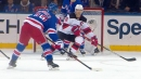 Tony DeAngelo has five-point night, including hat trick for Rangers