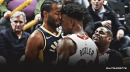 Heat's Jimmy Butler, Pacers' T.J. Warren punished for their roles in heated altercation