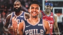 VIDEO: Sixers' Tobias Harris, Kyle O'Quinn troll rookie Matisse Thybulle for messing up fast food order