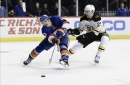 Bergeron Scores on Power Play in OT, Bruins Top Islanders 3-2