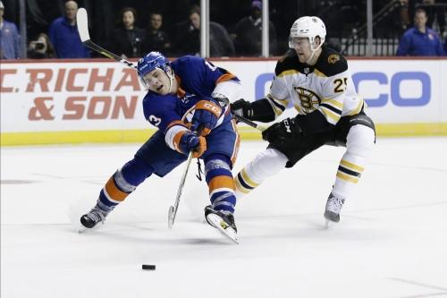 Bergeron Scores on Power Play in OT, Bruins Top Islanders 3-2