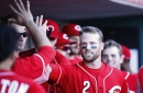 Giants cut recently acquired infielder Zack Cozart, add former Angels pitcher