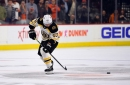 Brad Marchand's shootout gaffe costs Bruins in loss to Flyers