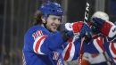 Rangers' Panarin records 5 points in win over Islanders