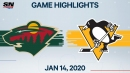 Crosby's four-point night guides Penguins to win over Wild