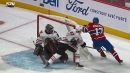 Ilya Kovalchuk assists on Phillip Danault's goal with great no-look pass