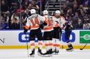 Voracek's overtime goal lifts Flyers past Blues, 4-3