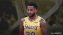 Lakers' Troy Daniels describes key to being ready off the bench