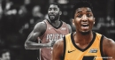 VIDEO: Jazz's Donovan Mitchell sends E'Twaun Moore flying with the crossover