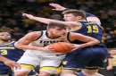 Eli Brooks gets hot, but Michigan unable to guard Iowa's Luka Garza in 90-83 loss
