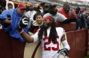 When a kid yelled, 'Give me your shoe,' Richard Sherman did more than that