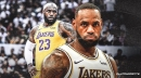 LeBron James hooks up Troy Daniels with several boxes of sneakers