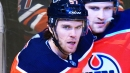 Oilers' Connor McDavid scores two second period goals against Coyotes