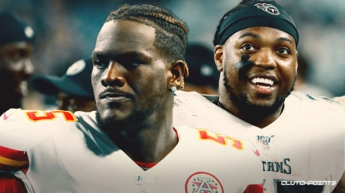 Chiefs' Frank Clark trash talks Titans' Derrick Henry, says he's not hard to hit