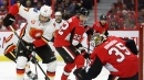 Hogberg's 40-save performances helps lift Senators past Flames