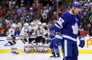 Maple Leafs fall out of playoff spot with blowout loss to Blackhawks