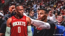 Russell Westbrook rejects 'depressed' Rockets locker room after third straight loss
