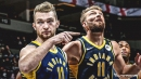 Pacers' Domantas Sabonis diagnosed with deep bruise in left knee, not expected to be restricted