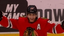Blackhawks' Patrick Kane records 1,000th career point with assist vs. Jets