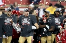 Photos: San Francisco 49ers receive NFC Championship trophy as they head to Super Bowl in Miami