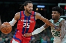 Detroit Pistons' Derrick Rose reportedly a trade target for 76ers, Lakers