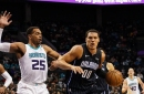 Hornets can't overcome several offensive droughts and lose to Magic, 106-83