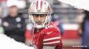 49ers QB Jimmy Garoppolo says running game has made his life easier