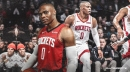 Rockets' Russell Westbrook reacts to Houston's 4th straight loss