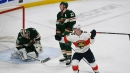 Acciari scores late to give Panthers comeback win over Wild
