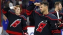Hurricanes' Justin Williams scores twice in win over Jets