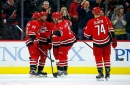Williams' 2 goals the difference as Hurricanes defeat turbulent Jets