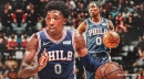 Sixers' Josh Richardson injures left hamstring, out for rest of contest Wednesday