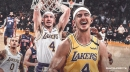 MSG crowd gives Lakers' Alex Caruso 'MVP' chants during Knicks game