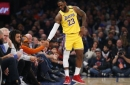 Lakers Do Not Play Their Best Game, But Still Good Enough To Beat Knicks