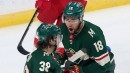 Staal, Zuccarello lead Wild past struggling Red Wings