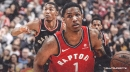 Raptors' Patrick McCaw set to see specialist after broken nose against Sixers