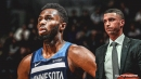 Timberwolves' Ryan Saunders ripped into Andrew Wiggins after invisible 1st half vs. Bulls