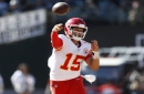 Does Chiefs QB Patrick Mahomes' due diligence include Aaron Rodgers and Lamar Jackson?