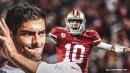 49ers teammate praises Jimmy Garoppolo, rejects bystander myth