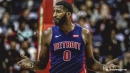 Rumor: Hawks balked at trading 1st-round pick for Andre Drummond because of extension demands