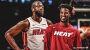 Jimmy Butler reacts to Dwyane Wade saying his 'crazy' is perfect for Heat