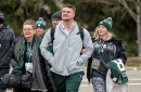 Michigan State's Kenny Willekes 'doing good' transition to new position at Senior Bowl