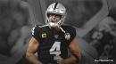 Raiders QB Derek Carr reacts to rumors surrounding his future with Las Vegas