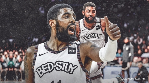 Nets' Kyrie Irving preaches patience amid Brooklyn's struggles