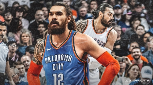 Thunder's Steven Adams out vs. Hawks with ankle injury