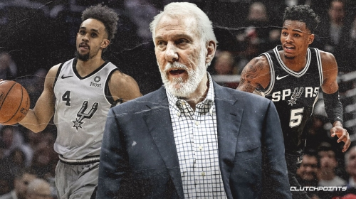 Spurs' Gregg Popovich likes what he sees from Dejounte Murray, Derrick White pairing