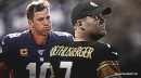 Steelers QB Ben Roethlisberger reacts to Eli Manning's retirement