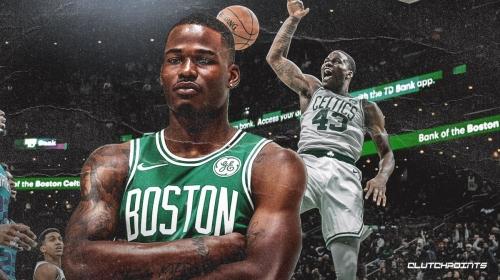 VIDEO: Celtics' Javonte Green pulls off a dunk contest-worthy slam vs. Magic