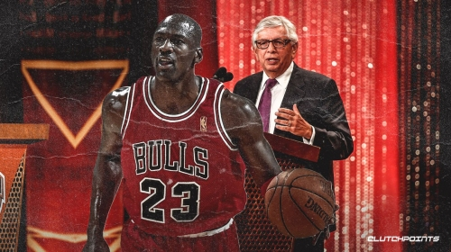 Michael Jordan admits he 'wouldn't be here' without David Stern